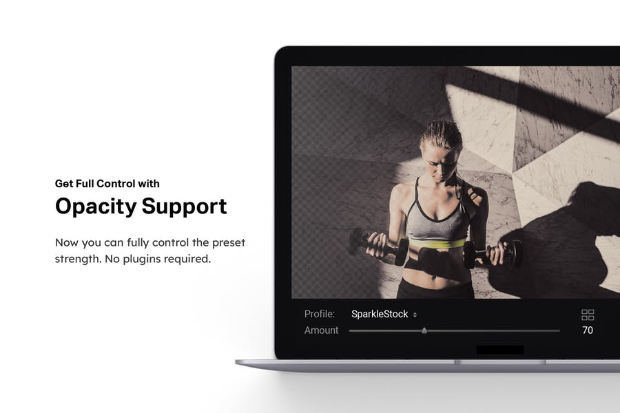 40 Fitness Lightroom Presets and LUTs - product preview 8