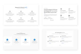 20 Features / IconBox Design Web-UI Kit