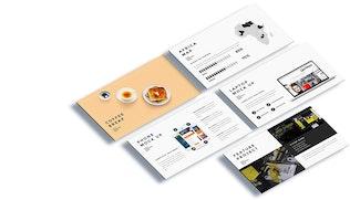 Thumbnail for Moksa - Creative Agency Google Slide Presentation