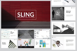 Thumbnail for Sling Minimal | Keynote Templates