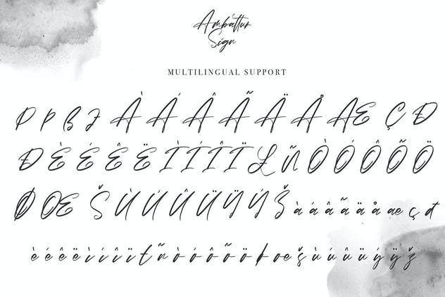 Ambattur Sign | Modern Signature Font