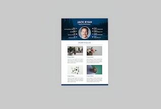 Thumbnail for Mintage Resume Designer