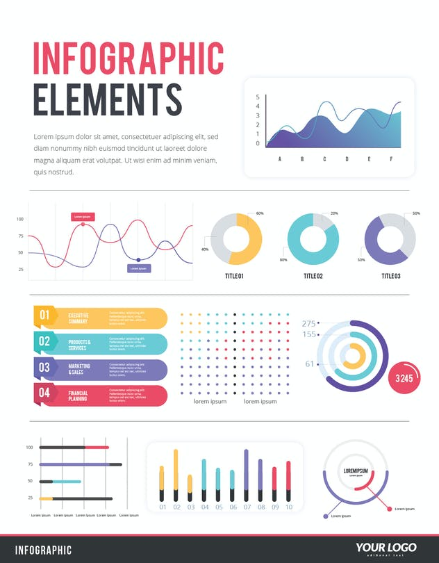 IInfographic Examples for Designer V.44