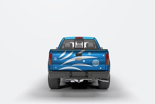 Thumbnail for Pick Up Truck Mock-Up
