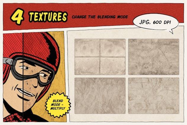 Halftone Grunge Photoshop Brushes