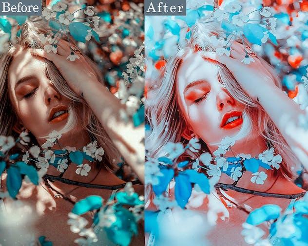 White Fashion Photoshop Actions
