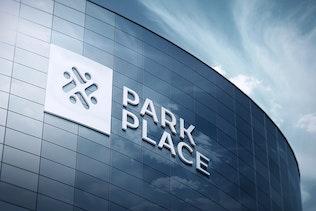 Thumbnail for 3D Logo Signage Facade Wall Mock-Ups Vol.2