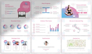 Thumbnail for Naura - Yoga Google Slides Template