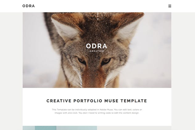 ODRA - 10 Creative Muse Templates Multi-Purpose - product preview 1