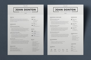 Thumbnail for Resume John