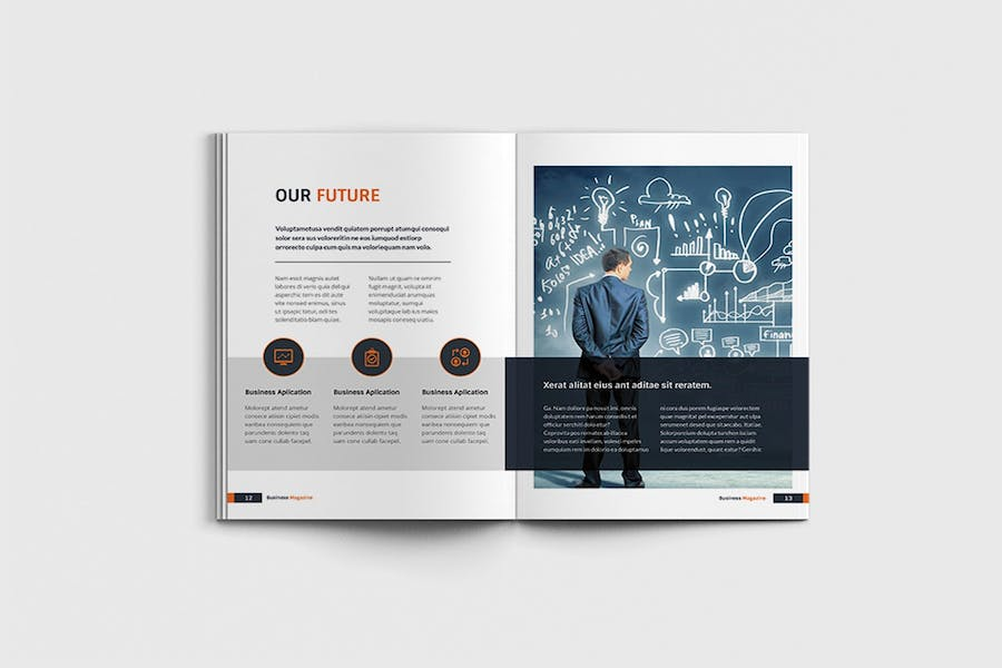 Workfice - A4 Business Brochure Template - product preview 6