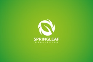 Thumbnail for Leaf and Green Logo