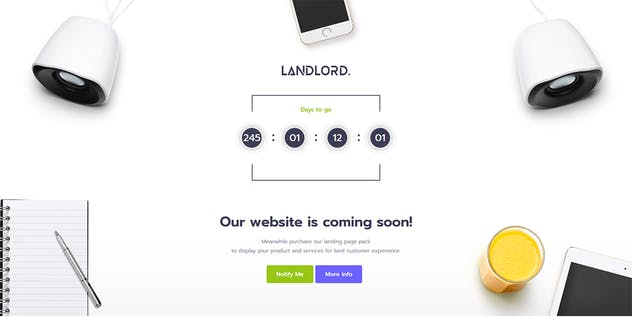 Landlord - Landing Page Templates - product preview 4