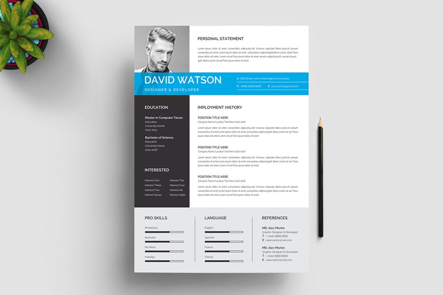 Resume Template 116 - product preview 4