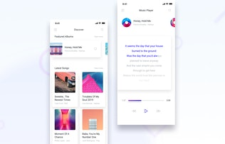Thumbnail for Brake UI Kit 2.0 - Music, Photo & Media