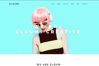 Thumbnail for Elrumi - Creative Muse Template