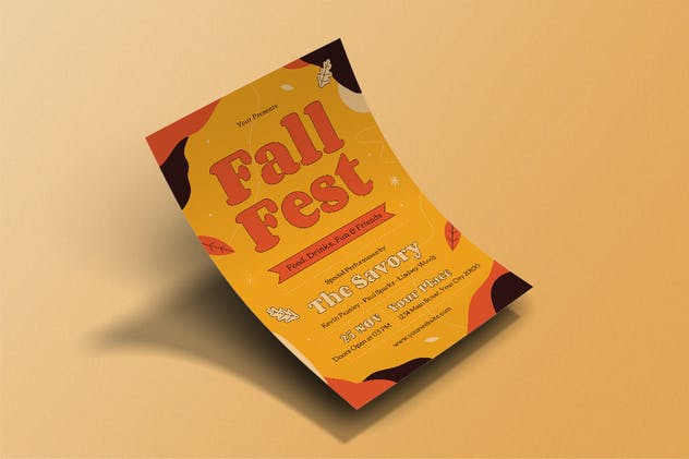 Fall Fest Flyer - product preview 2