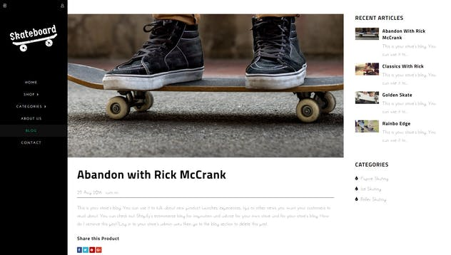 Skate board - Fullscreen Sports Shopify Theme - product preview 6
