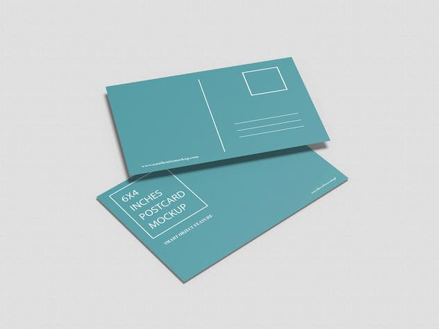 Postcard Mockup - product preview 2