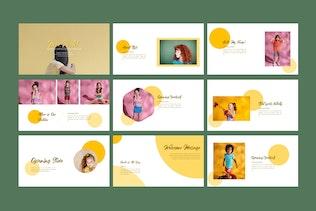 Миниатюра для Новая пастельная бизнес-презентация - LS
