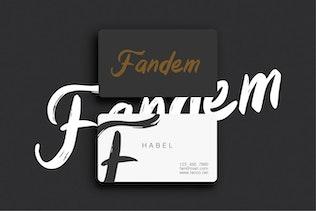 Dreamland - Handbrush Modern Font