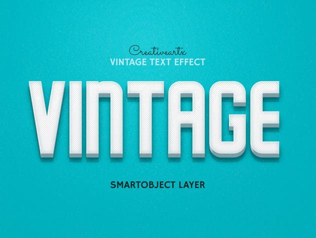 Vintage Retro Text Effects - product preview 7