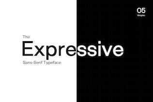 Thumbnail for Exensa Grotesk - Sans Serif Typeface & Web Fonts