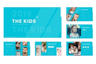 Thumbnail for The Kids - Keynote Template
