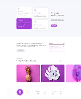 Drago — Creative and Digital Agency Adobe XD