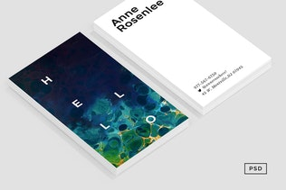 Thumbnail for Muse Business Card Template