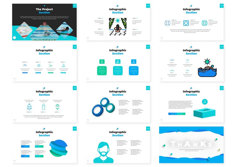 Swema | Keynote Template - product preview 3
