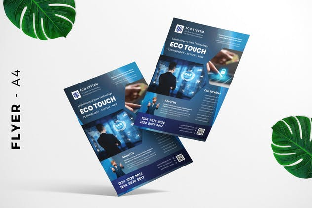 Computer Technology Flyer Design - product preview 2
