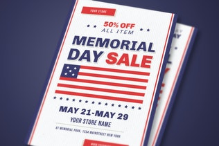 Thumbnail for Memorial Day Celebration & Sale Flyer