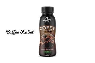 Thumbnail für Kaffeeeetiketten-Design