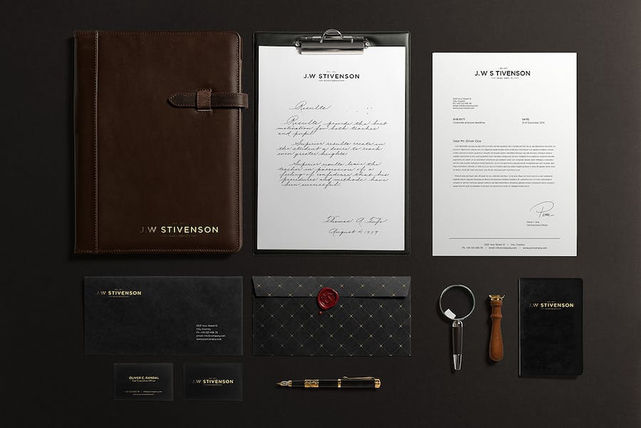 Preview image 2 for Luxury Branding Mockup