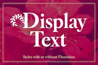 Thumbnail for Botany Font Family