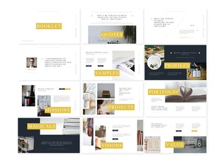 Thumbnail for Booklet - Keynote Template