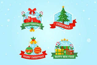 Miniature pour Wishing - Font décoratives de Noël bouclés