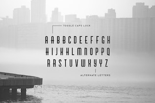 Thumbnail for Brigmore Typeface