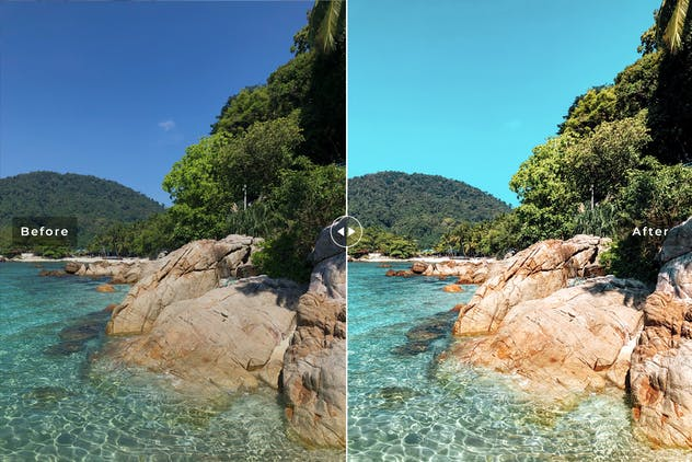 Pulau Merah Mobile & Desktop Lightroom Presets - product preview 3