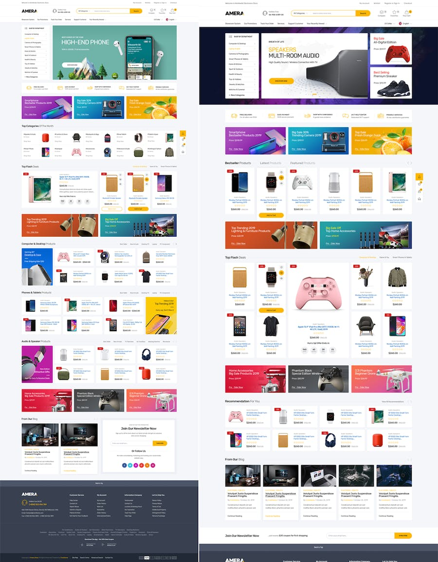 Amera - Responsive Prestashop 1.7 Theme - product preview 1