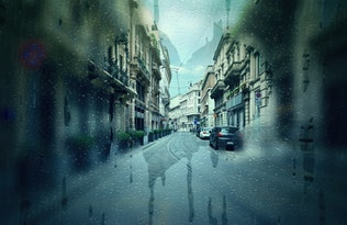 Thumbnail for Rainy Day CS4+ Photoshop Action