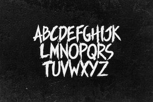Thumbnail for Manticore - Brush Font