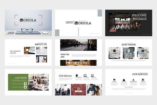 Thumbnail for Oriola : Business Powerpoint Template