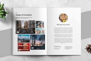 Thumbnail for HOLIDAY - Magazine Template