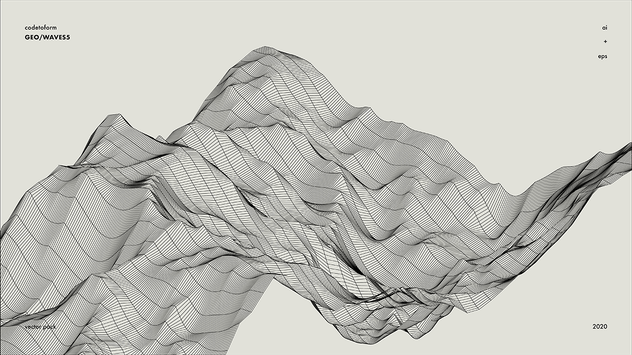 GEO_WAVES5 Vector Pack - product preview 2