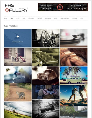 Thumbnail for Fast Gallery - Premium Wordpress Plugin