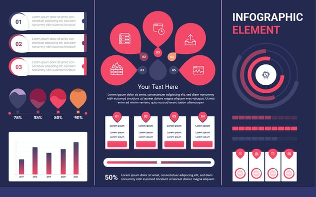 Infographic Examples for Designer V.19 - product preview 1