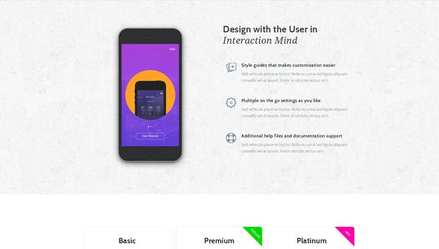 App Promotion   One Page App Promotion Theme - product preview 4