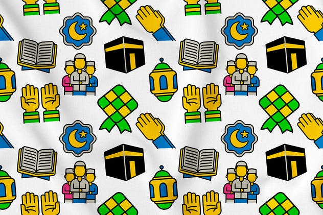 Islamic Seamless Pattern Vo. 1